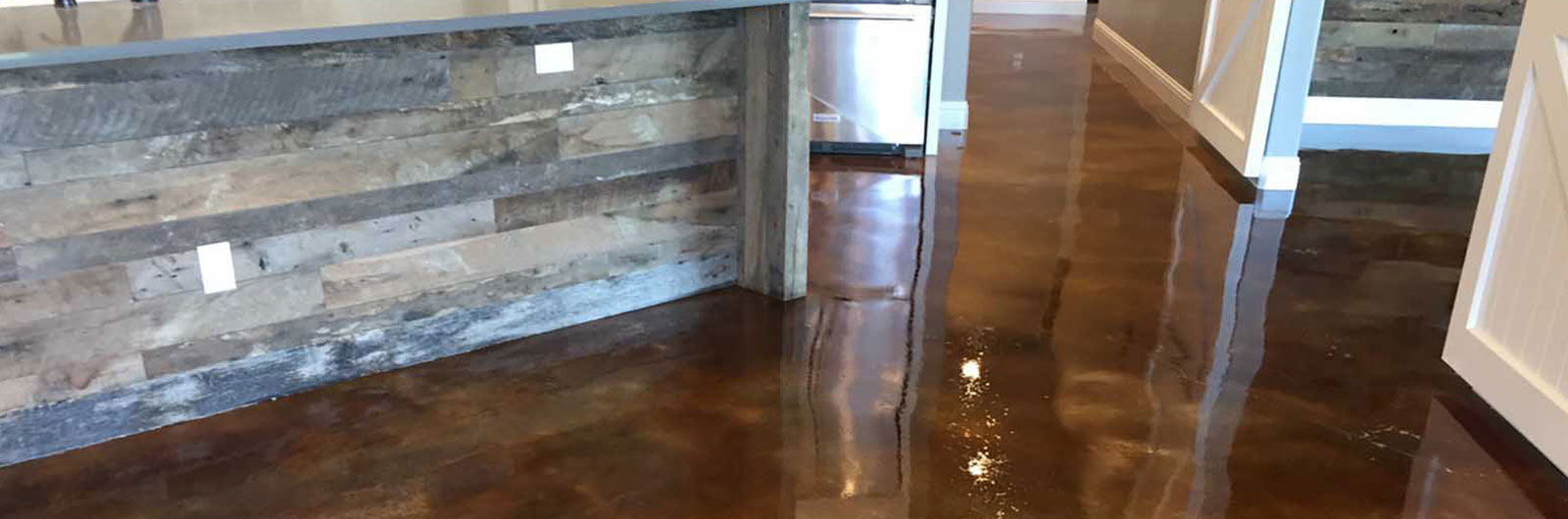 stained concrete floors austin